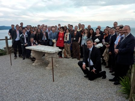 KULTURisk team during the 2nd workshop at Trieste, IT